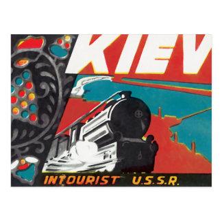 Kiev Intourist USSR Postcard