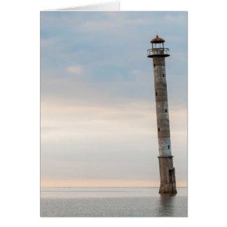 Kiipsaare Leaning Lighthouse, Saaremaa, Estonia Card