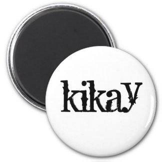 kikay 2 inch round magnet