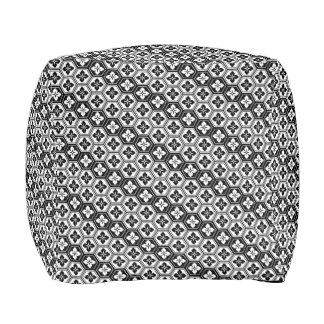 Kikkou Japanese Pattern Pouf