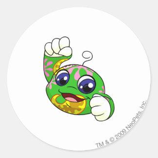 Kiko Disco Classic Round Sticker