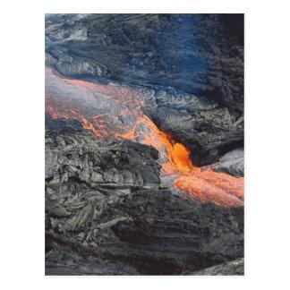 Kilauea Lava Flow Postcard