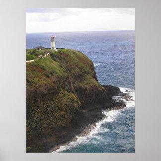 Kilauea Lighthouse, Kauai Poster
