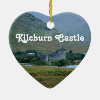 Kilchurn Castle Ceramic Ornament
