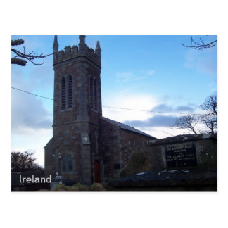 Kilgobbin Church of Ireland Church, Kerry, Ireland Postcard