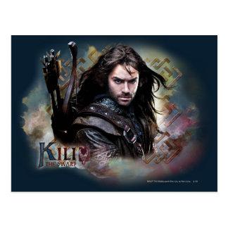 Kili With Name Postcard