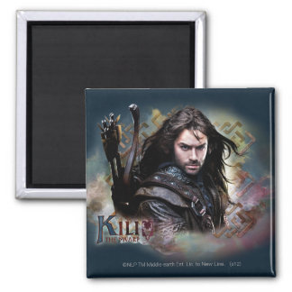 Kili With Name Square Magnet