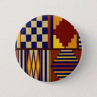 Kilim Prayer Rug design 2 Inch Round Button
