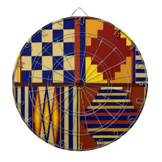 Kilim Prayer Rug design Dartboard