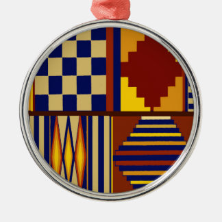 Kilim Prayer Rug design Metal Ornament