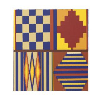 Kilim Prayer Rug design Notepad