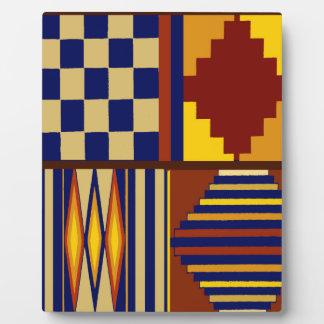 Kilim Prayer Rug design Plaque