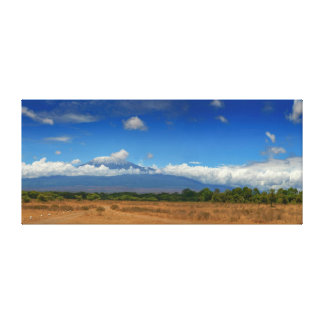 Kilimanjaro Mountain Africa Canvas Print