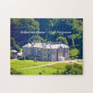 Kilkerran House – Clan Fergusson Jigsaw Puzzle