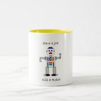 Kill a Robot Mugs