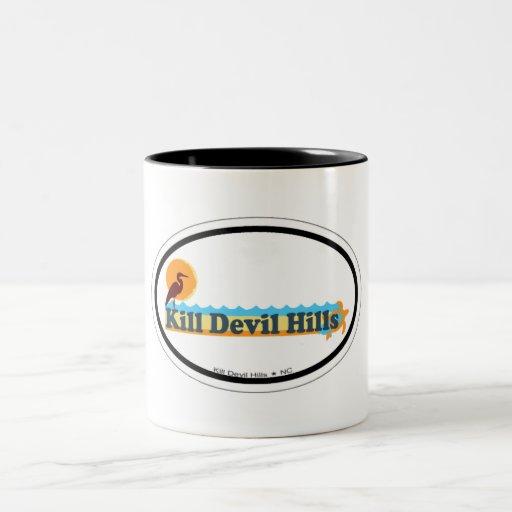 Kill Devil Hills. Coffee Mugs