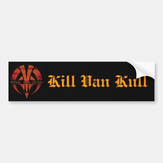 Kill Van Kull Bumper Sticker