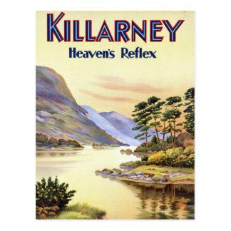 Killarney, le réflexe du ciel carte postale
