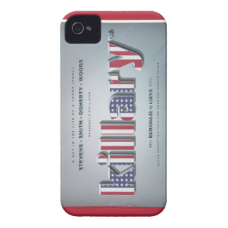 Killary Crooked Hillary Benghazi TRUMP 4 PRESIDENT Case-Mate iPhone 4 Cases