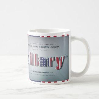 Killary Crooked Hillary Benghazi TRUMP 4 PRESIDENT Coffee Mug