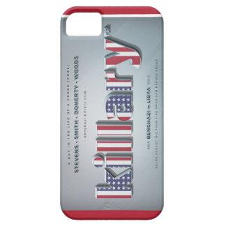 Killary Crooked Hillary Benghazi TRUMP 4 PRESIDENT iPhone 5 Cases