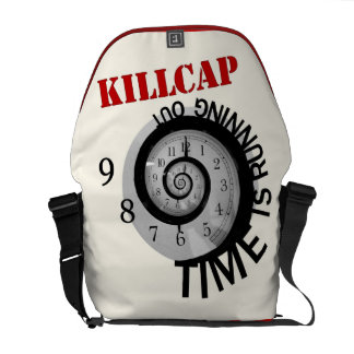 KillCap -- Time is Running Out Commuter Bag
