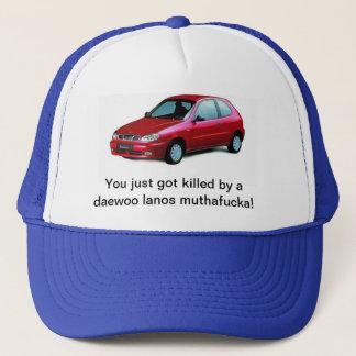 Killed by a daewoo lanos trucker hat