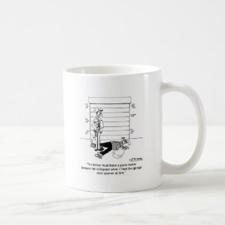 Killed By A Garage Door Opener Coffee Mug