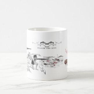 killed for kill 02 classic white coffee mug