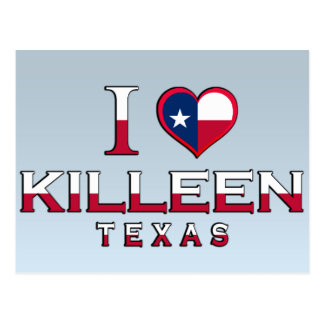 Killeen, Texas Postcard