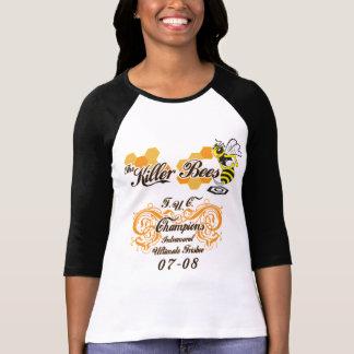 Killer Bees Baseball Cut Tshirt