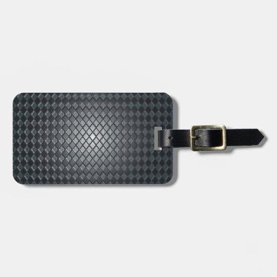 Killer Black Diamond Design Luggage Tag