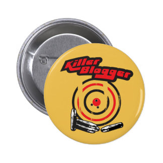 Killer Blogger 2 Inch Round Button