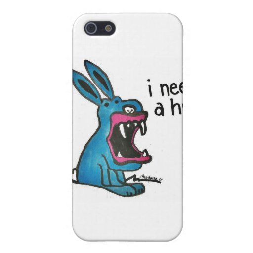 Killer Bunny Needs a Hug. iPhone 5 Cover
