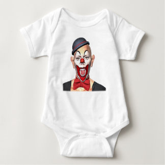 Killer Clown looking to the front Baby Bodysuit