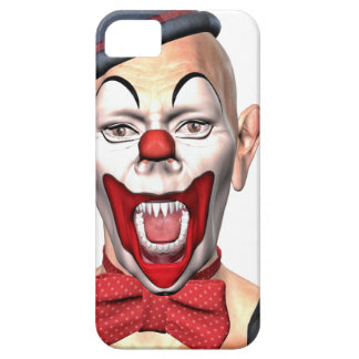 Killer Clown looking to the front iPhone 5 Case