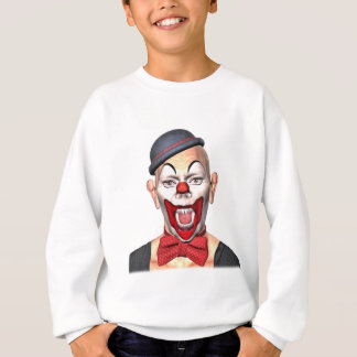 Killer Clown looking to the front Sweatshirt