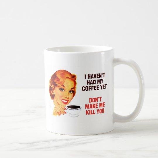 Killer Coffee Bad Girl Coffee Mug