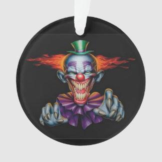 Killer Evil Clown Ornament