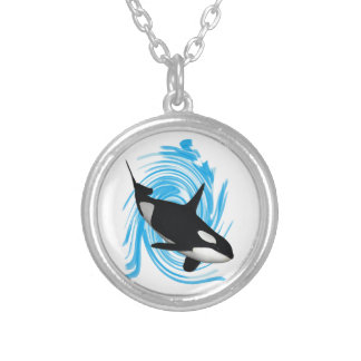 Killer Instincts Silver Plated Necklace
