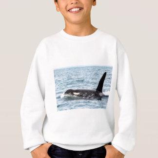 Killer Orca Male Whale San Juan Island Sweatshirt