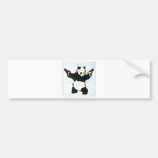Killer Panda Bumper Sticker