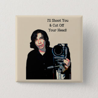 Killer Photo 2 Inch Square Button