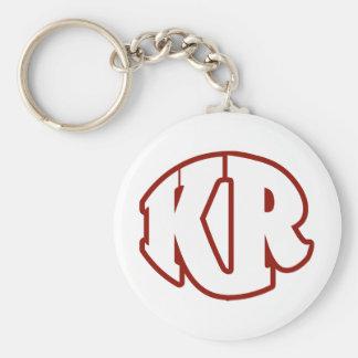 Killer Red Logo #2 Basic Round Button Keychain