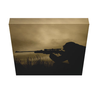 killer Sniper Canvas Print