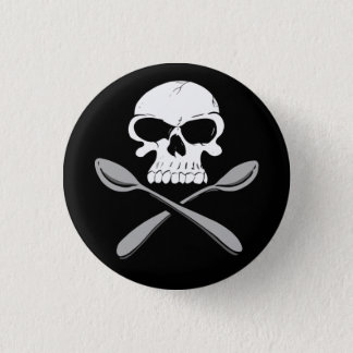 Killer Spoons Badge 1 Inch Round Button