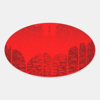 Killer Street Oval Sticker