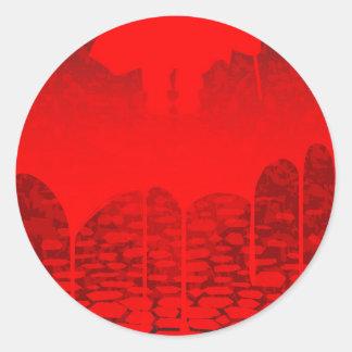 Killer Street Round Sticker