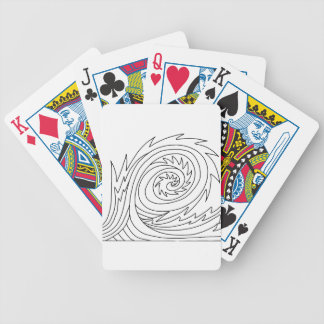 Killer Wave DIY Coloring Doodle gifts Bicycle Playing Cards