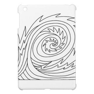 Killer Wave DIY Coloring Doodle gifts iPad Mini Covers
